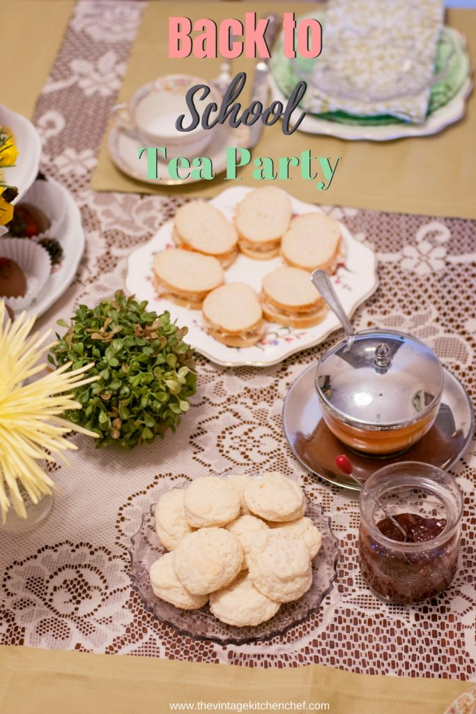 Back to School Tea Party