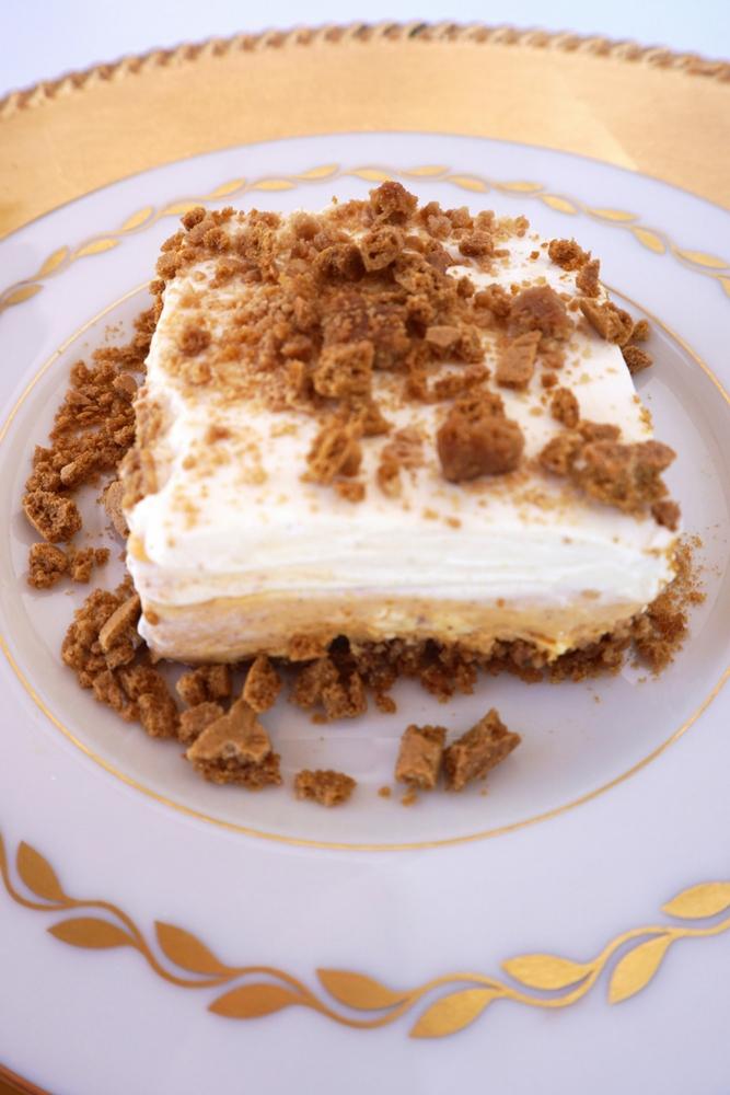 Pumpkin Gingersnap Dessert