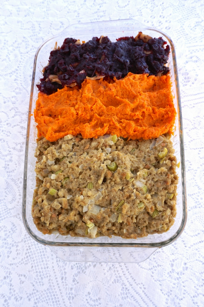 One Pan Thanksgiving Turkey Casserole