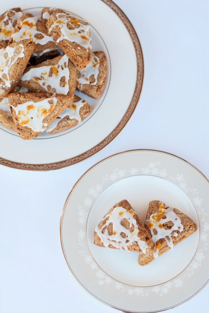 Gingerbread and Orange Scones