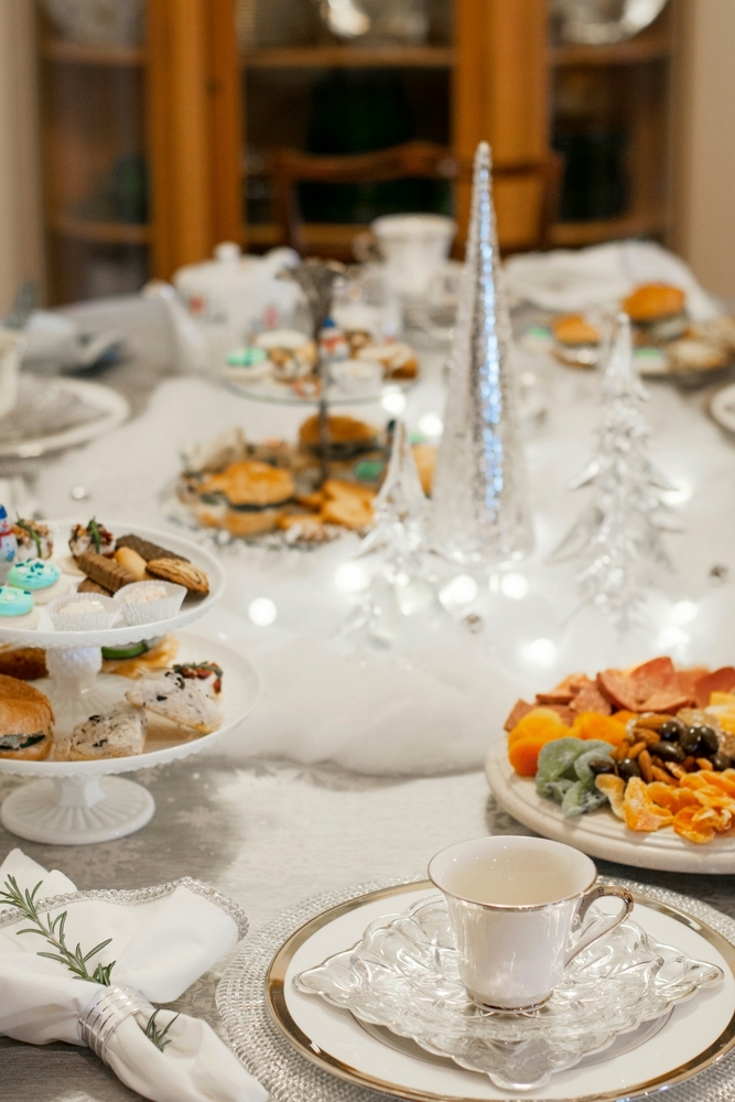 Winter Wonderland Tea Party