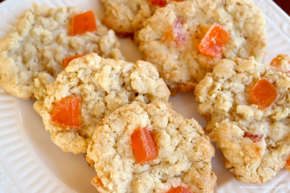 Orange gumdrops, oatmeal and coconut...oh my! These yummy Vintage Gumdrop Cookies are simple to make and sure to become a family favorite!