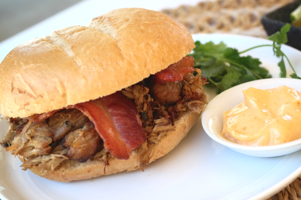 The Ultimate Pork Carnitas Sandwich is bursting with flavor and yummy goodness! If you're looking for a filling and fabulous sandwich, then look no further.