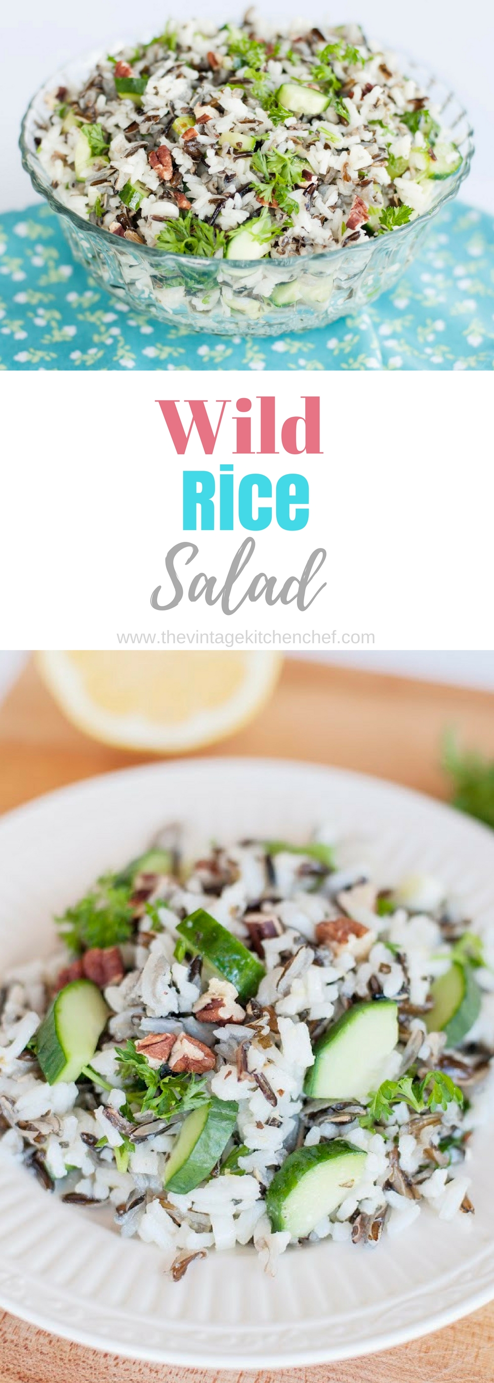 With a bit of crunch here and a bit of savory there, Wild Rice Salad is a blend of subtle flavors that treat your taste buds.