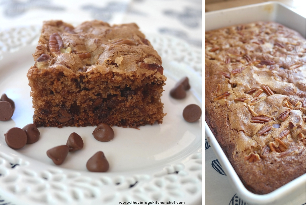 Chocolate Chip Date Cake is so yummy and moist and has just the right amount of chocolatey goodness! Your family will love it!