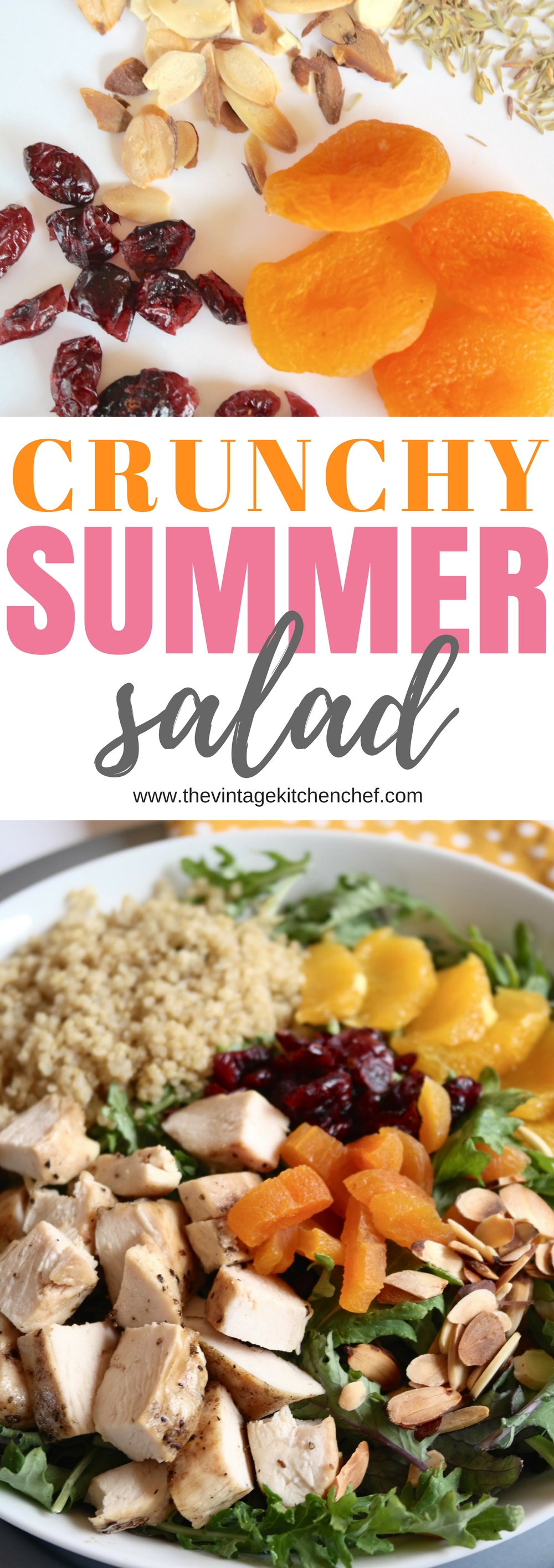 Enjoy plenty of flavors, color, and texture in this delicious and healthy crunchy summer salad. A real treat for the taste buds!