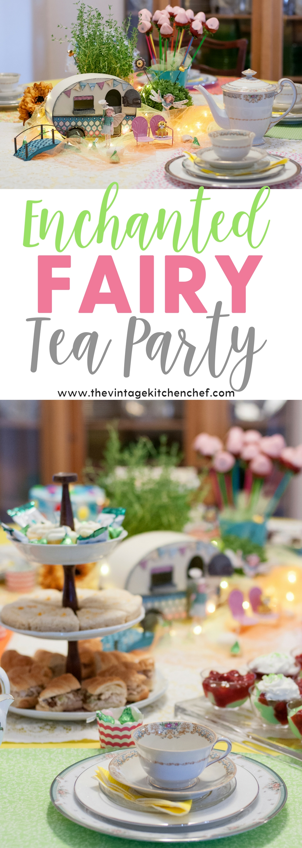A bit of whimsy and a bit of elegance come together to create this Enchanted Fairy Tea party. What a lovely way to spend an afternoon!