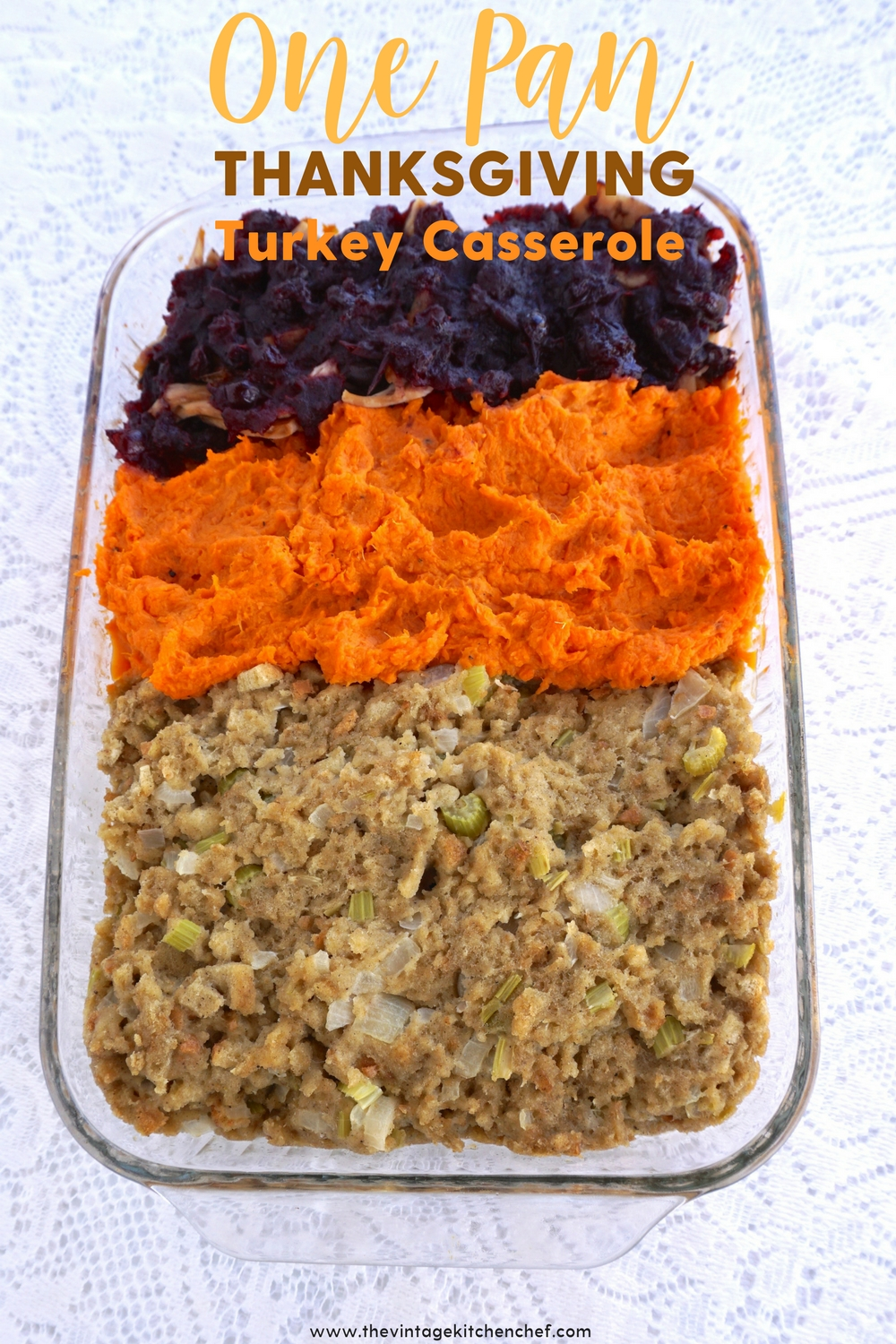 Easy One Pan Thanksgiving Turkey Casserole is great for a family gathering! Guess what? We enjoy this even when it's not November since it's delicious!