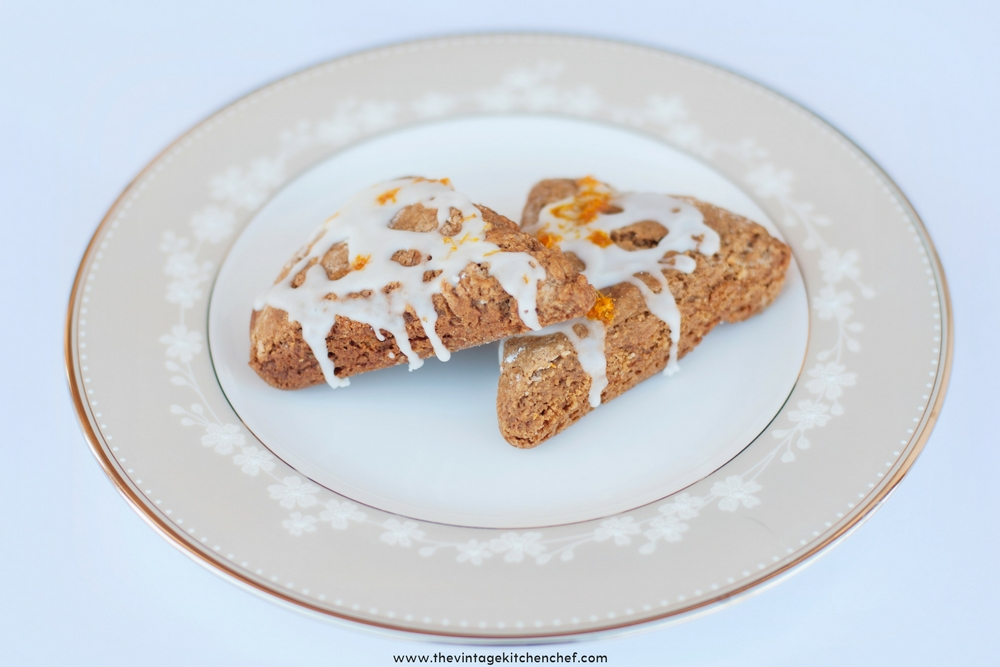 A hint of orange turns an ordinary gingerbread scone into a heavenly treat! These easy but delectable sones are perfect for tea time or breakfast!